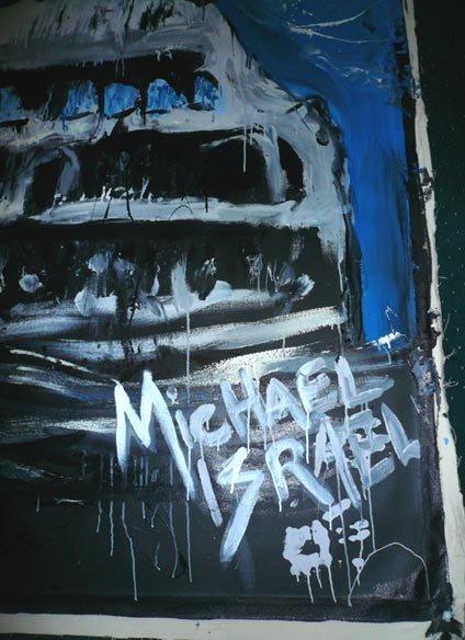1028: Michael Israel (American) Oil on canvas - 3