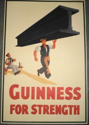 1016: Vintage Guinness Poster, John Gilroy 1934