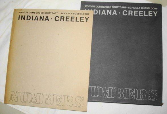 1018: Robert Indiana & Robert Creeley NUMBERS Book