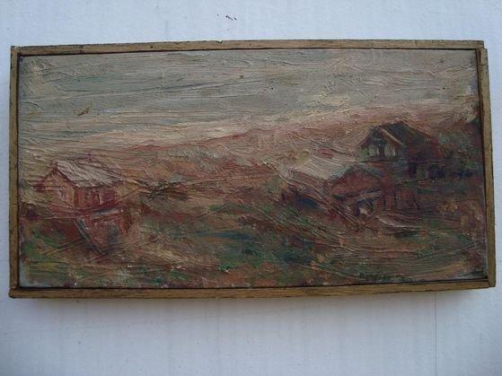 "1020A: G. Myers ""Fire Island"" Landscape"