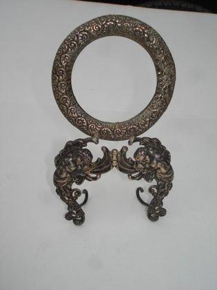 1007: Sterling Silver Frame, 55 grams