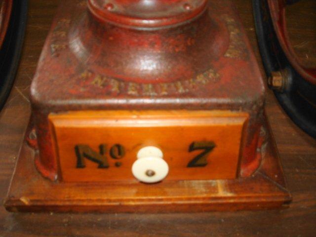 1011: Enterprise Coffee Grinder #7. Original Condition - 5