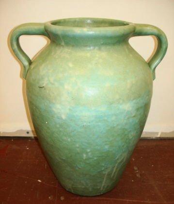 "1004: Large Oil Jar, 16 1/4"", Brush McCoy"