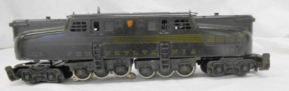 1000: Lionel 2332 green 5 stripe Pennsylvania Engine