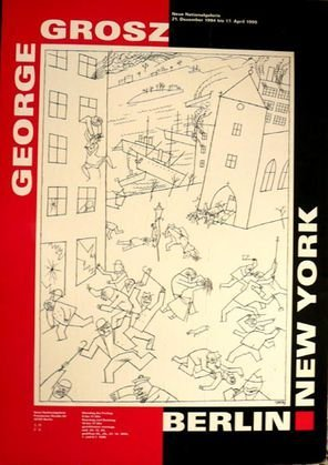 "1028: George Grosz ""Berlin New York 1994"""