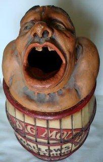 "1090: Vintage Circus ""Big Mouth"" Carnival Prop - 2"