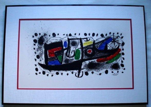 1028: Joan Miro, Lithograph