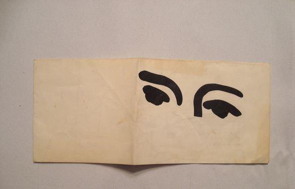 1028A: Henri Matisse 1951 Exhibtion Invitation
