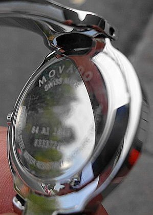 "1100A: Lady's Movado ""Kara"" Watch, Pink Face - 2"