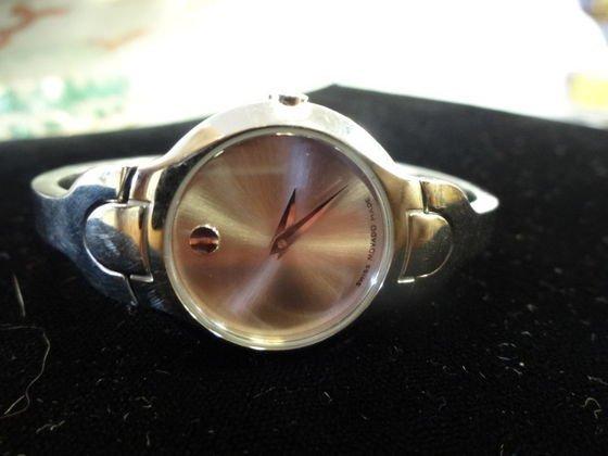 "1100A: Lady's Movado ""Kara"" Watch, Pink Face - 3"