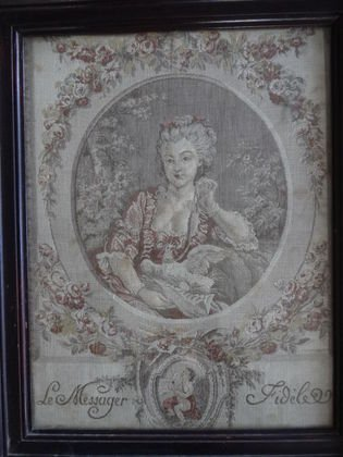 1028: 19th C French Tapestry