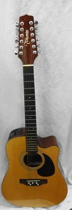 1011: Takamine Acoustic/Electric Guitar w/ Hard Case