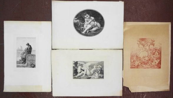 1027A: Collection of 18th/19th C Engravings