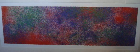 1079: Natvar  Bhavsar (India b. 1934) Abstract