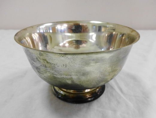 1000: Gorham Sterling Silver Bowl, P. Revere Reproducti