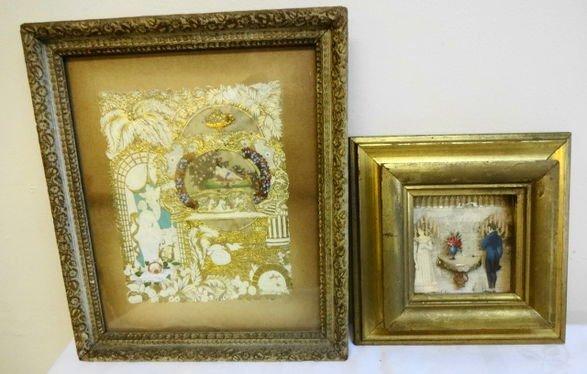 1004A: Victorian Framed Die Cut Shadowboxes & Valentine