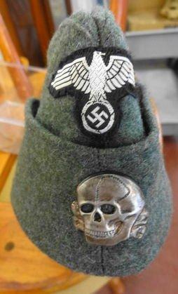 WW2 German Green SS Cap