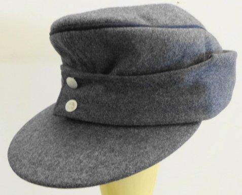 WW2 German Luftwaffe M43 Cap Marked