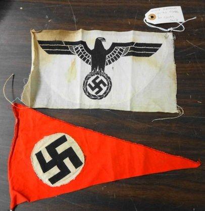 WW2 German Pennant and Sport Emblem