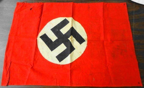 """WW2 German Nazi Flag 20"""" x 14-1/2"""""""