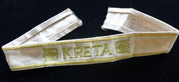 WW2 German Kreta Cuff Title