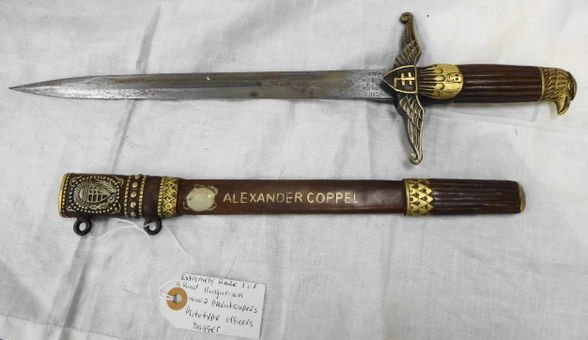 WW2 Officers Paratropper Dagger Hungary