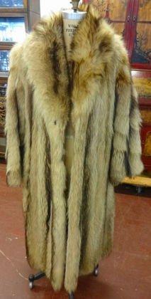 Lady's Full Length Raccoon Coat