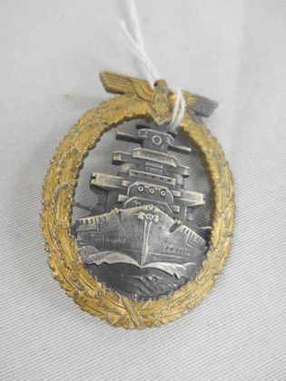 WW2 German Navy High Seas Fleet Badge