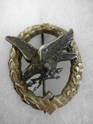 WW2 German Aerial Gunner Badge, Marked