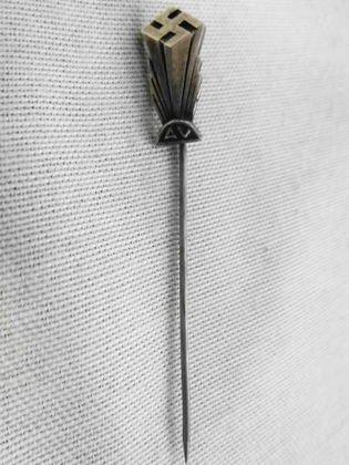 800 Sil, American Nazi Party Stick Pin