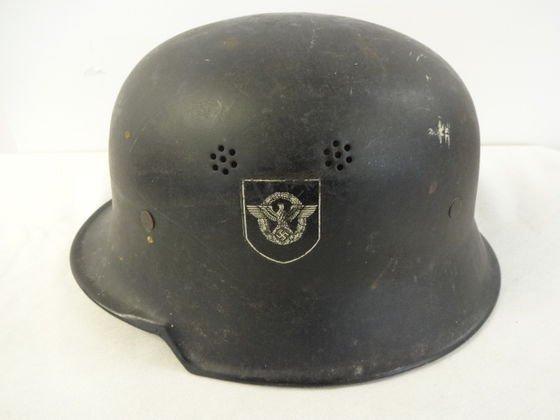 WW2 German Nazi Police Helmet - 2