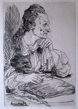 Bernard Naudin Etching & Dry Point