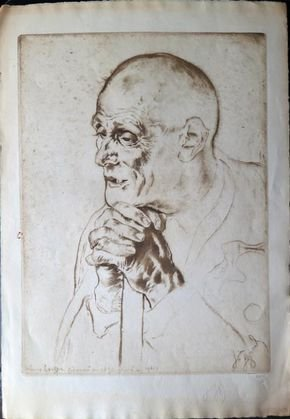 Louis Legrand, Signed Etching, 1911