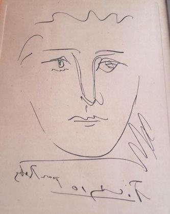 Pablo Picasso Original Etching, 1950
