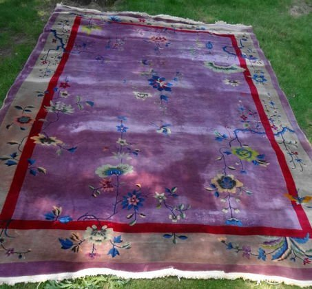 Chinese Art Deco Room Size Rug