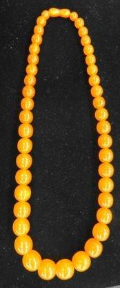 Russian Amber Graduated Beads