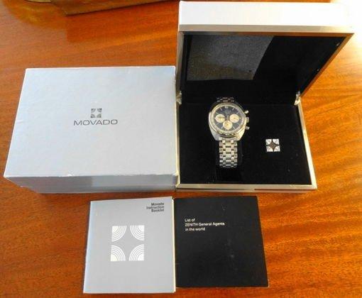 Man's Movado  Chronograph Datron HS 360 Watch