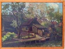 American Southern School Oil Painting, J. Willink