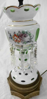 Bohemian Lustre Lamp with Prisms