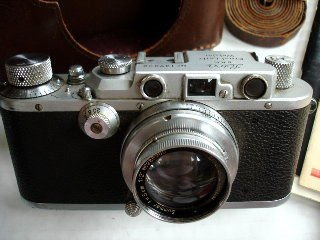 LEICA  III a Camera with Lenses and Accessories