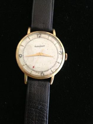 Jaeger LeCoultre, 18k Gold Watch, Classic