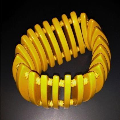 Bakelite Stretch Bracelet, c.1935