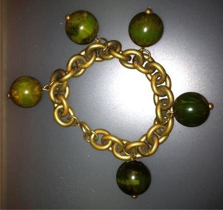 Bakelite Charm Bracelet, c.1935