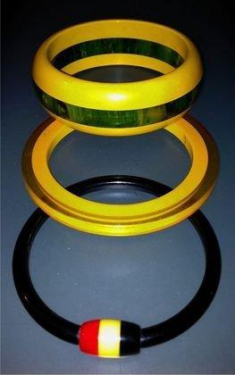 (3) Bakelite Bracelets, c.1935