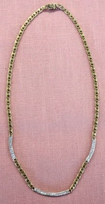 Gucci, 18k Gold Necklace with 26 Diamonds
