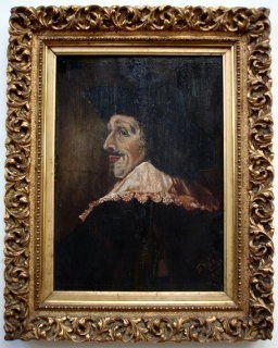 19th C. Italian Oil on Panel, Signed & Dated