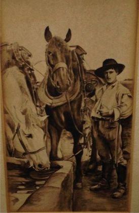 Pulp Western Painting, c.1930