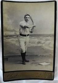 Baseball Cabinet Card, 1889, Elwood Otto Wagonhurst