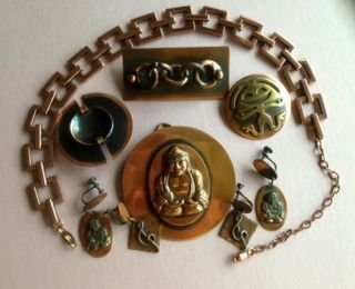 Signed Copper Jewelry, Chanel, Hogan, Pujol (7)