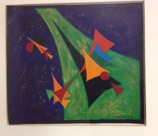 Rolph Scarlett, Abstract Painting, Signed